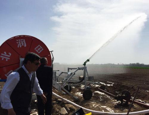 滴灌带厂家赵县卷盘式灌溉工程